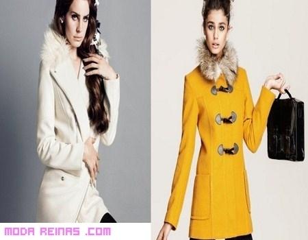 Abrigos de moda en tiendas low-cost