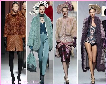 Abrigos de moda para el 2013
