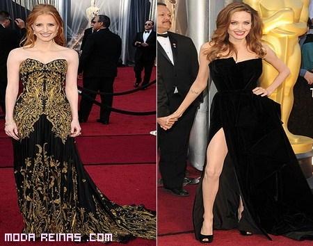 Los mejores vestidos de los Óscars 2012