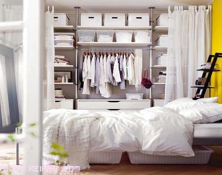 Organizar la ropa por colores