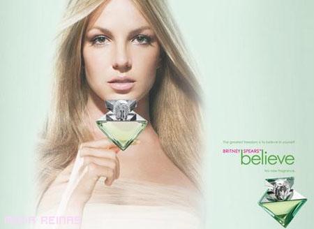 El perfume de Britney Spears BELIEVE