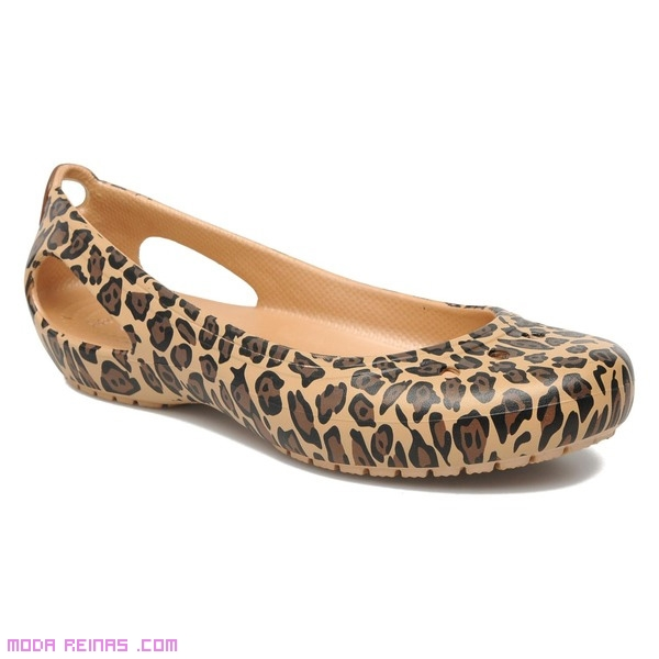 crocs de leopardo