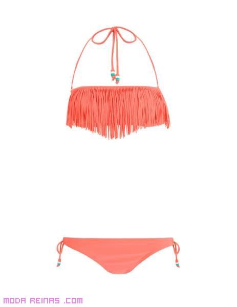 Bikinis corte triángulo