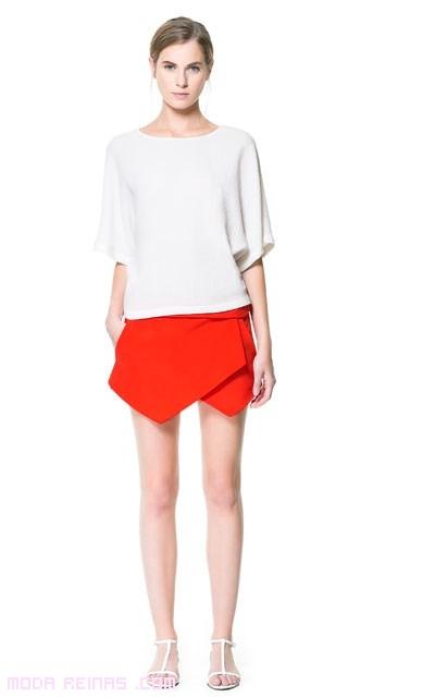 faldas pantalón de moda
