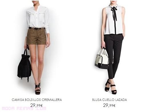 Blusas elegantes verano 2013