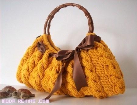 Bolsos de lana, una elección de moda