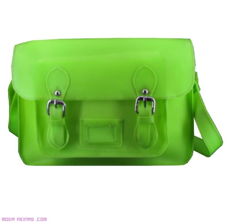 Bolsos bandolera en color verde