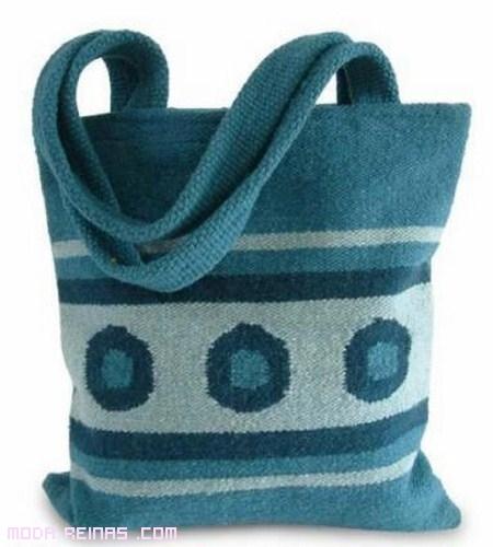 Bolsos de lana una eleccin de moda