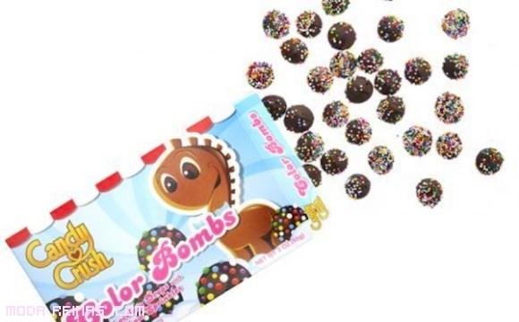 bombones de chocolate y frutas