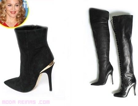 Próxima colección de zapatos por Madonna