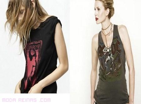 Camisetas Rockeras siempre de moda