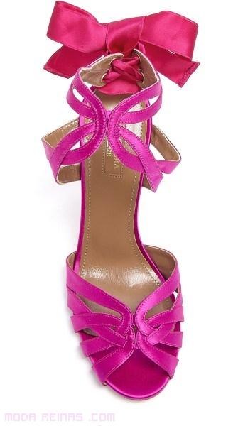 zapatos de fiesta en rosa