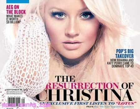 Christina Aguilera en Billboard