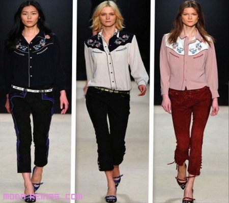 moda femenina 2012-2013