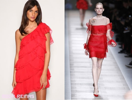 Vestidos rojos para año nuevo 2011