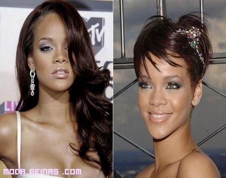 Rihanna y sus cambios de look