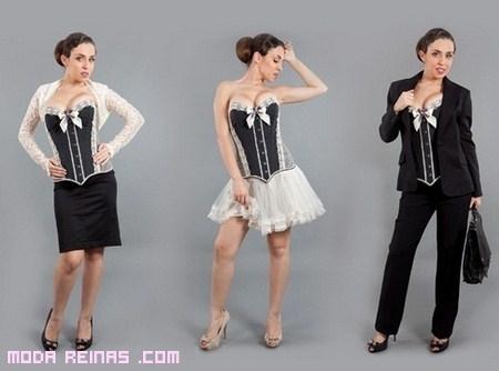 Combinar un corset para el día y la noche