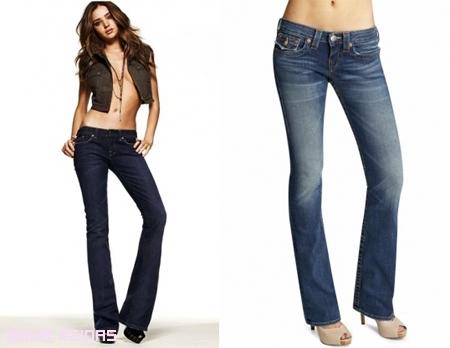 Cómo elegir jeans para tu tipo de cuerpo