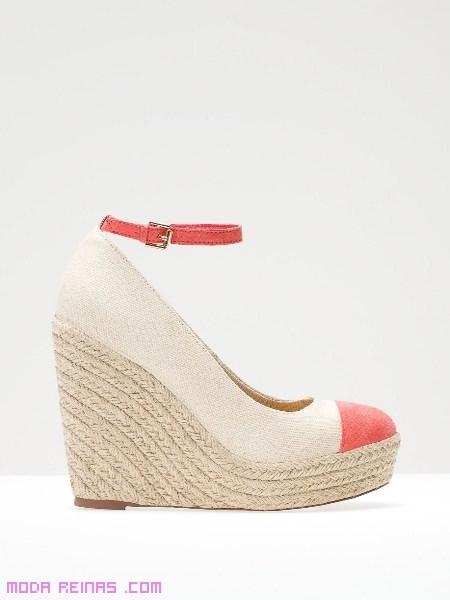 sandalias cuñas de pulsera