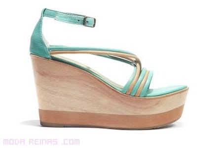 sandalias de moda 2012