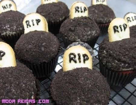 Cupcakes decorados para Halloween
