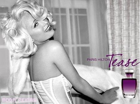 El perfume de Paris Hilton es TEASE