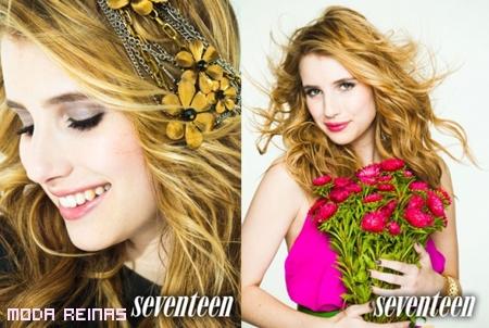 Emma Roberts en la portada de Seventeen