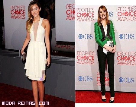 People´s Choice Awards, famosas y belleza