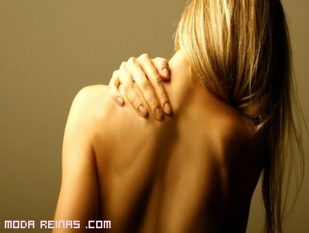 Una espalda sana, sin acné