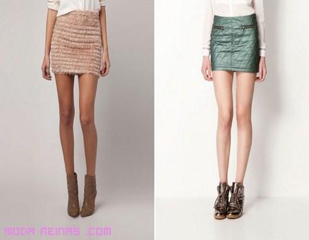 Nuevas faldas de Bershka