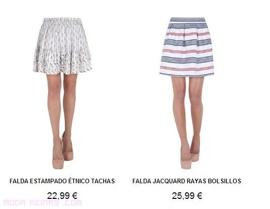 Faldas cortas para verano 2013