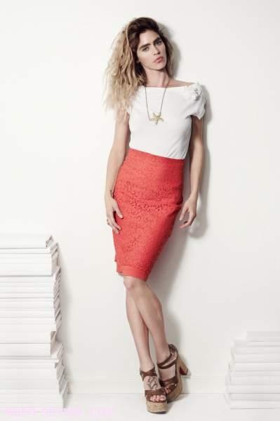 faldas coral