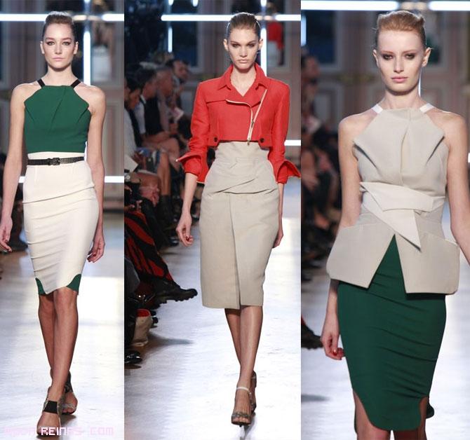 tendencias en faldas asimétricas
