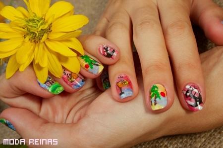 Ideas para manicure a la moda 2011