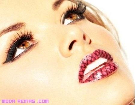 Tatuajes temporales para labios