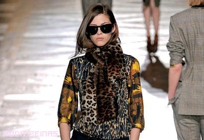 El leopardo es la tendencia del Otoño 2010