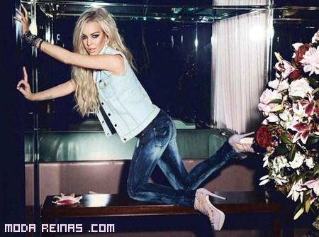 Jag Jeans y Lindsay Lohan