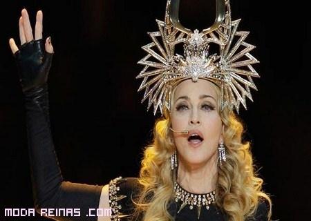 Madonna en la Super Bowl 2012