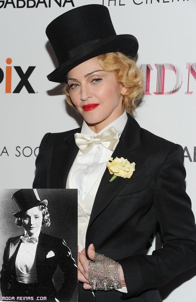 Madonna y Marlene Dietrich