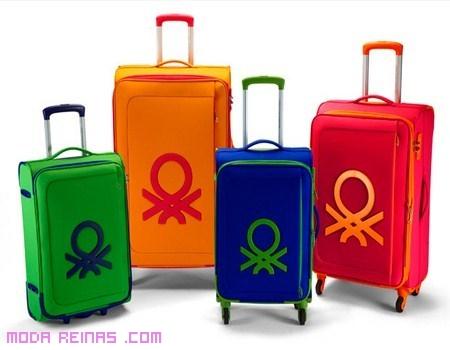 Maletas coloridas de Benetton