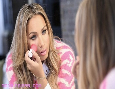 Maquillaje Leona Lewis para The Body Shop