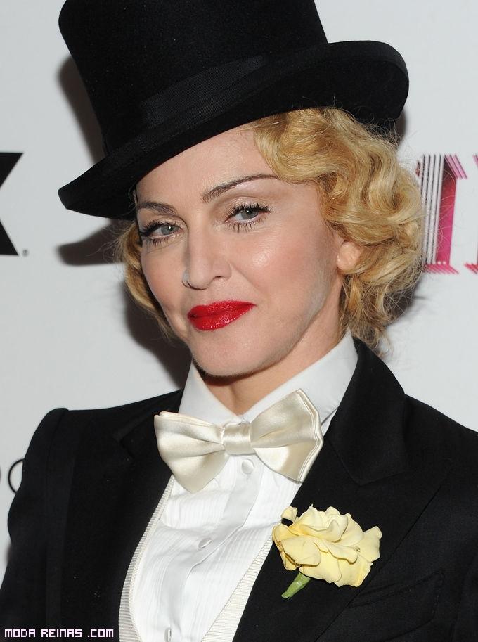 Madonna labios rojos