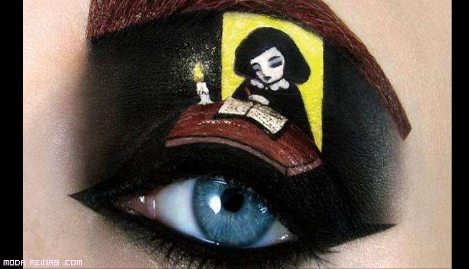 Maquillaje basado en libros