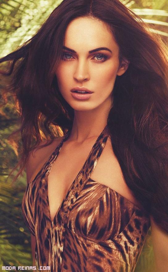maquillaje de moda en tonos marrones