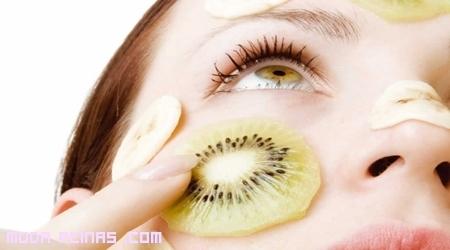 El kiwi, la mejor solución para tu rostro graso