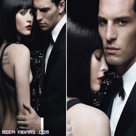 Megan Fox seductora para Armani