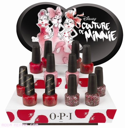 esmaltes Couture Minnie Mouse
