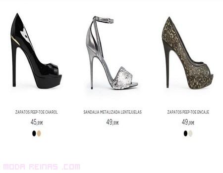sandalias de tacón de moda