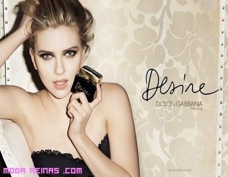 Scarlett Johansson y su Desire