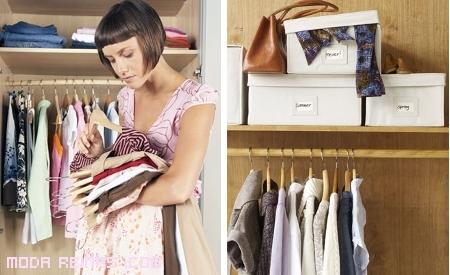 Ideas para organizar tu armario